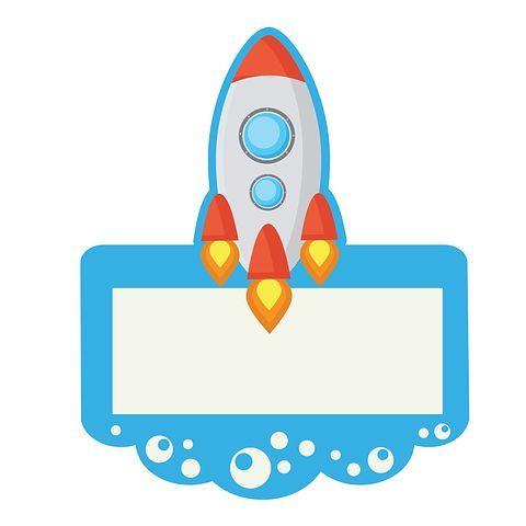 Rocket, Spaceship, Clip Art.