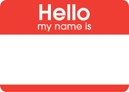 Name tag clipart » Clipart Station.