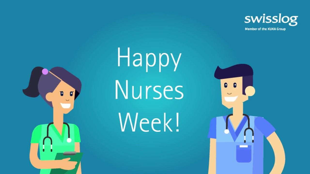 Swisslog Healthcare Celebrates National Nurses Week!.