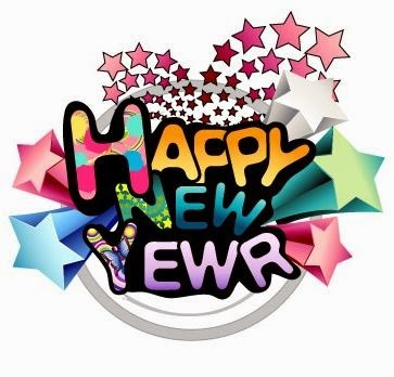 New Years Day Clipart.