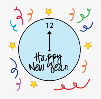 Free New Year Clip Art with No Background.