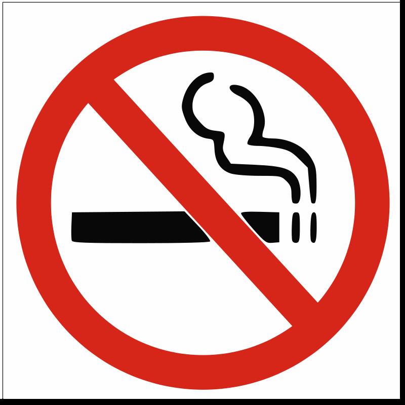 Free Clipart: No smoking sign.