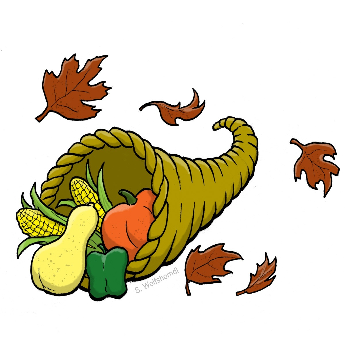 Free Animated November Clipart.