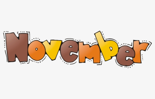 Free November Clip Art with No Background.
