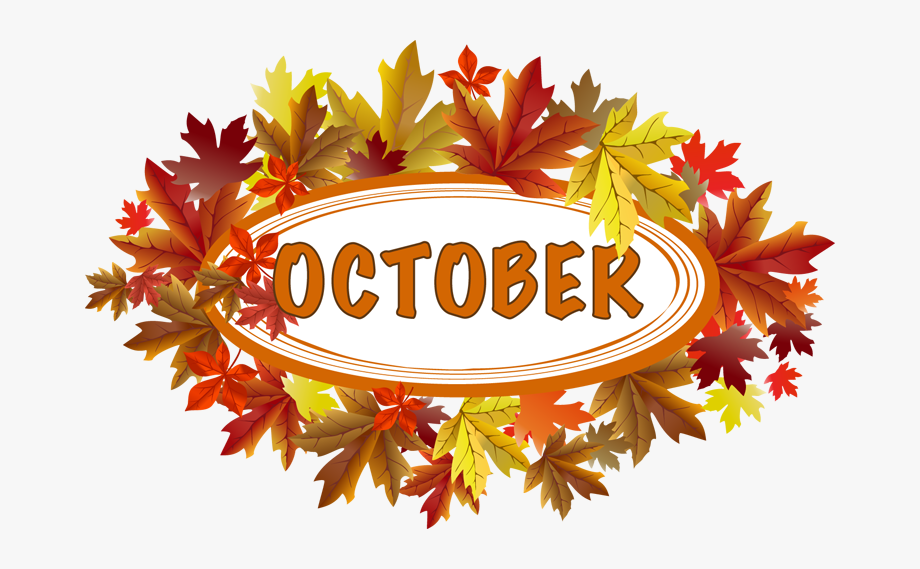 Clip Art For October Clipart.