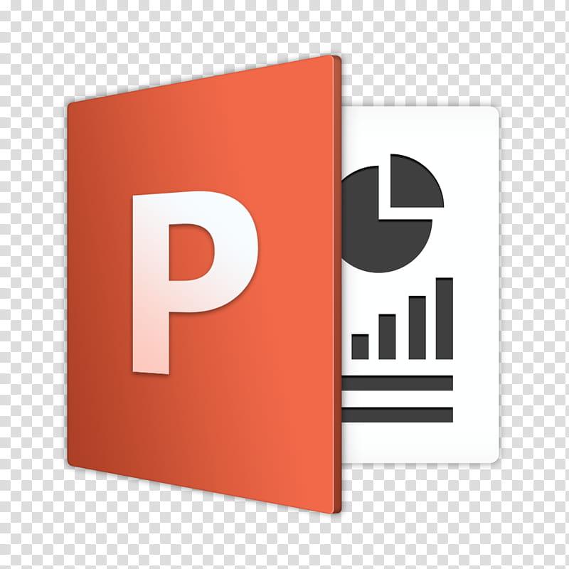 Microsoft Office For Mac , Microsoft Powerpoint icon illustration.