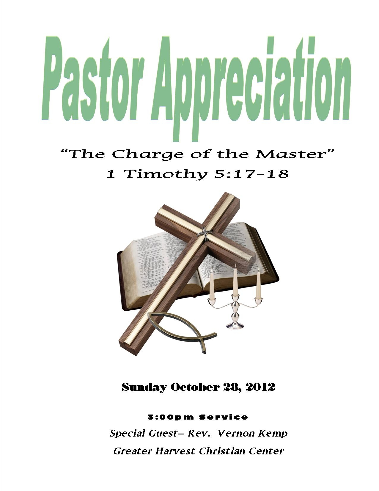 Pastor Appreciation Clip Art Free.