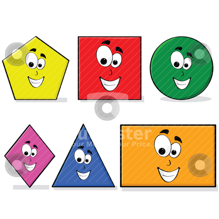 Clipart Of Shapes For Preschoolers.