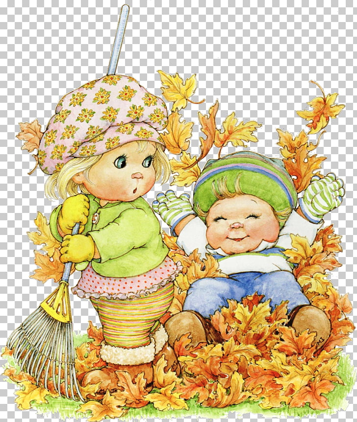 Desktop HOLLY BABES Child Drawing, autumn leaf arts and.