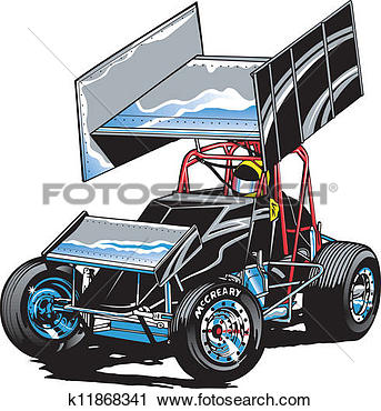 Similiar Sprint Car Clip Art Keywords.