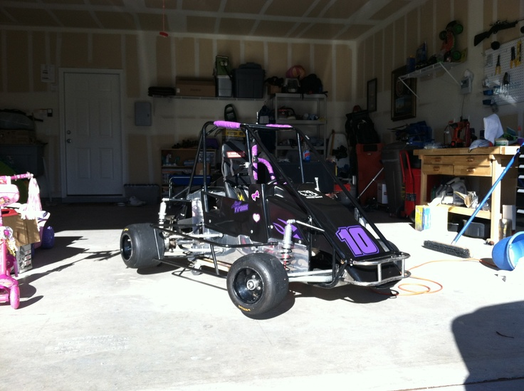 My daughters Quarter Midget Race Car..