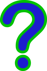 Green Question Mark Clip Art.