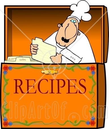 Recipe Clip Art Free.