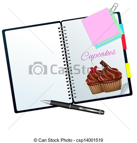 Recipe book Clipart and Stock Illustrations. 1,630 Recipe book.