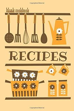 Recipe Book Cover Clipart.