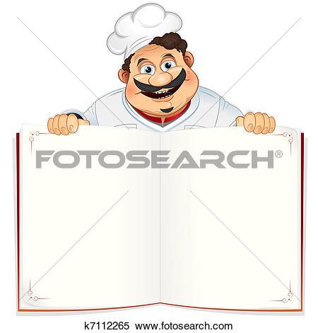 Clipart of Recipe Book k7112265.