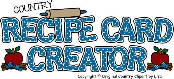 Recipe Card Creator.