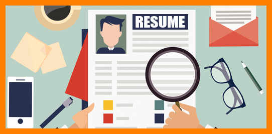 1147 Resume free clipart.