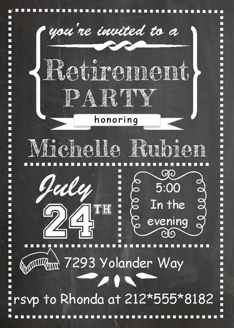 100+ Retirement Party Invitations.