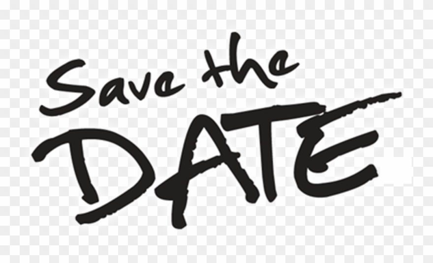 Save The Date Transparent Background.