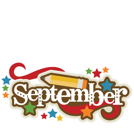 September Clipart Png.