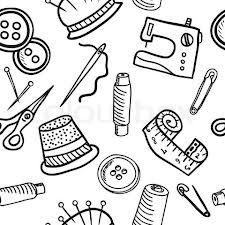 Sewing Vector Pattern.