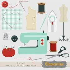 clip art sewing.