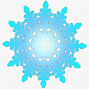 Christmas Snowflake Header Clipart.