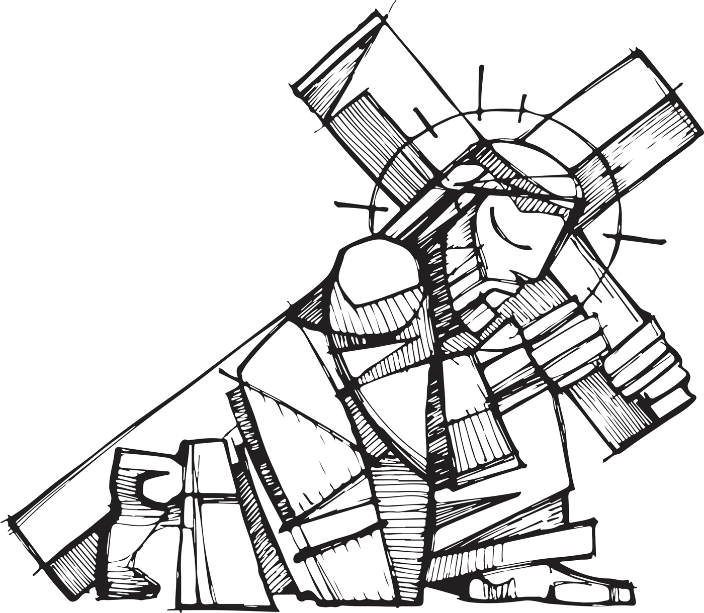 Clipart stations of the cross 7 » Clipart Station.