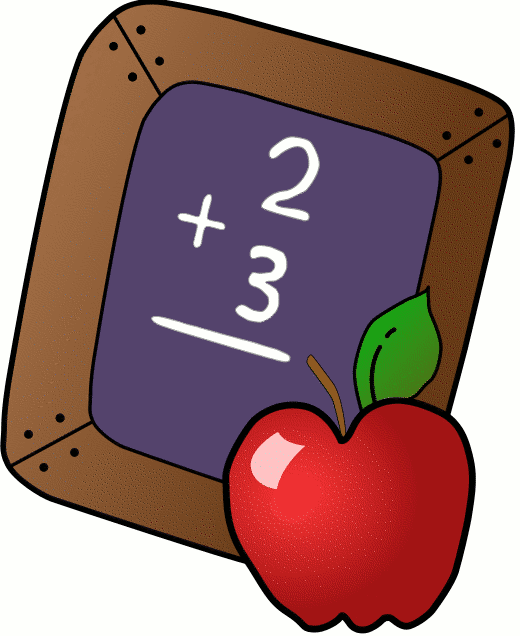 Teacher Apple Clipart.