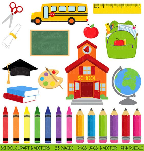 Educational Clipart For Commercial Use.