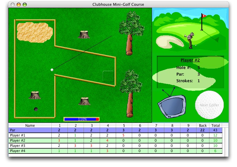 Golf Clipart For Mac.