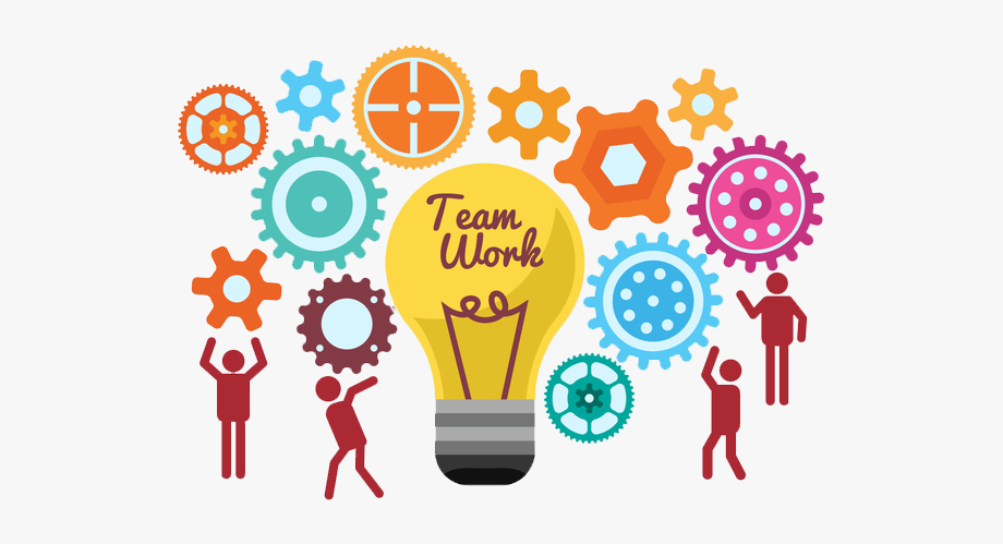 To Light Work Ideas Together Start Teamwork Clipart.