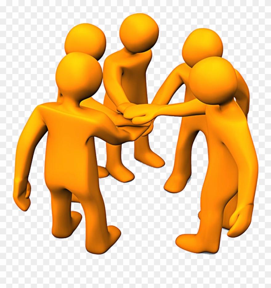 Clipart Hand Teamwork.