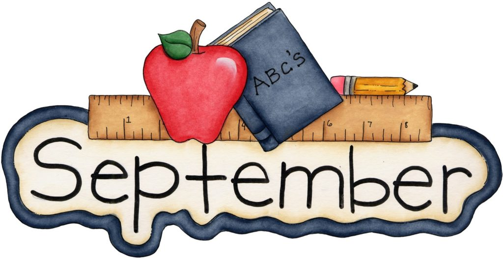 september pictures clipart #8
