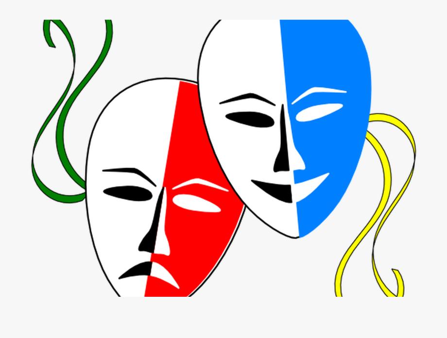 Cartoon Drama Masks Clipart Best.