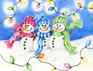 Winter Holiday Clip Art Free.