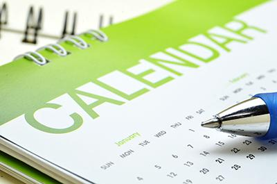 Church Year Calendar.