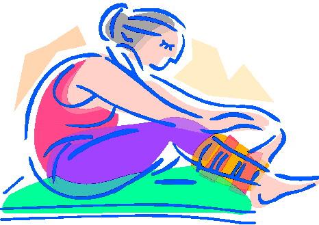 Yoga Clip Art.