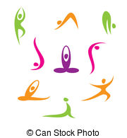 Yoga Clip Art and Stock Illustrations. 41,263 Yoga EPS.