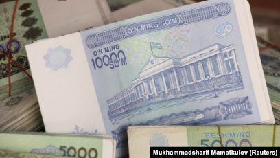 Uzbekistan Devalues Currency As It Emerges From Decades.