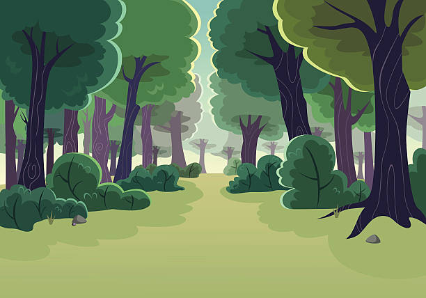 Clipart forest 2 » Clipart Station.