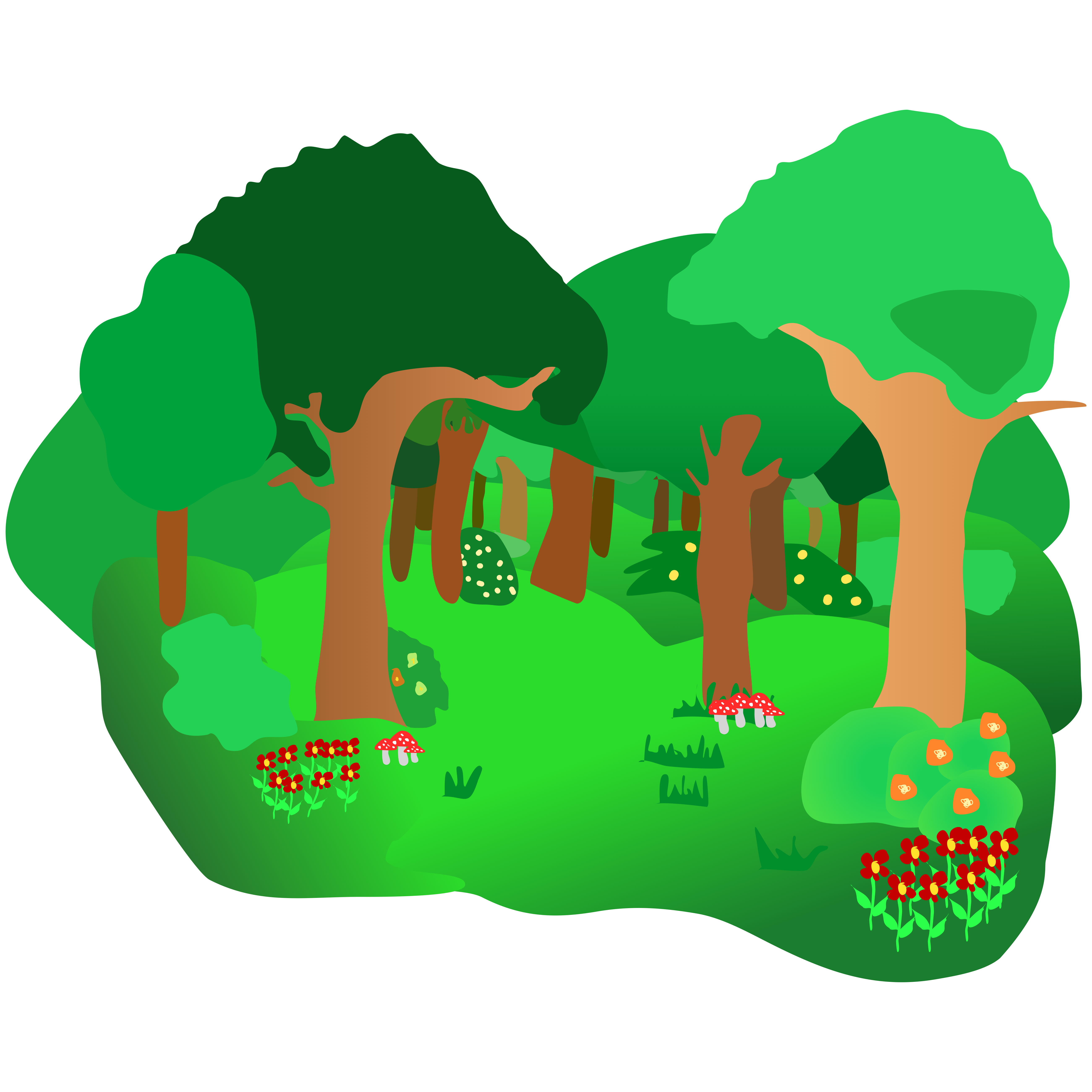 Clipart forest authority Transparent pictures on F.
