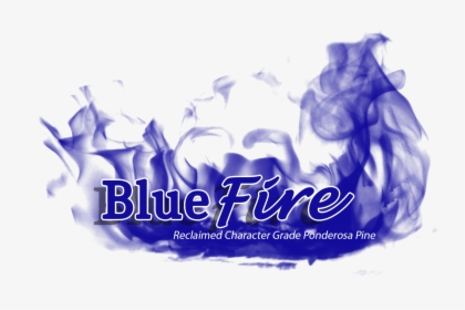 Princeton Forest Products Blue Fire Wood, HD Png Download.