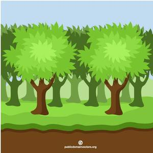 367 free forest clipart.