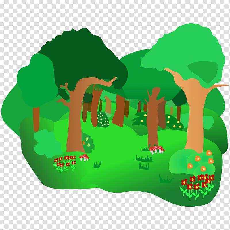 Forest Free content Website , Ecosystem transparent.