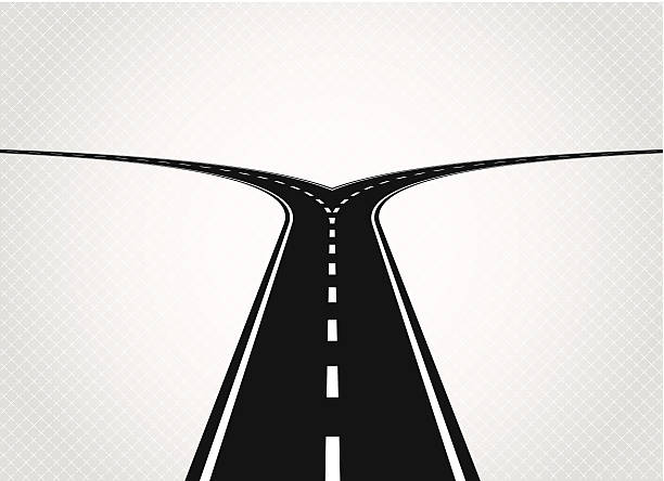 Fork In The Road Clipart.