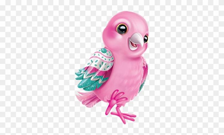 Clipart » Nature » Pink Bird.