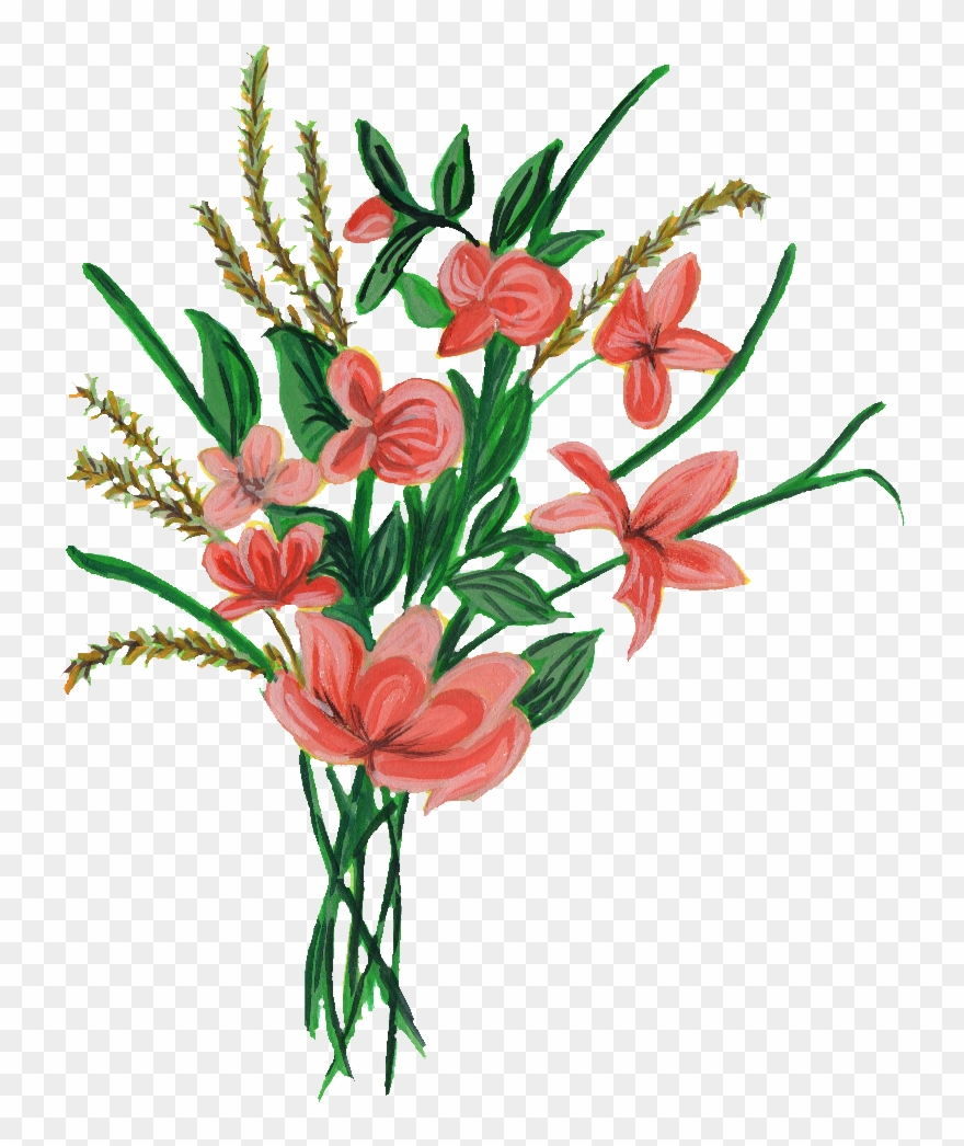 Bouquet Gladiolus Png Image Transparent Download.