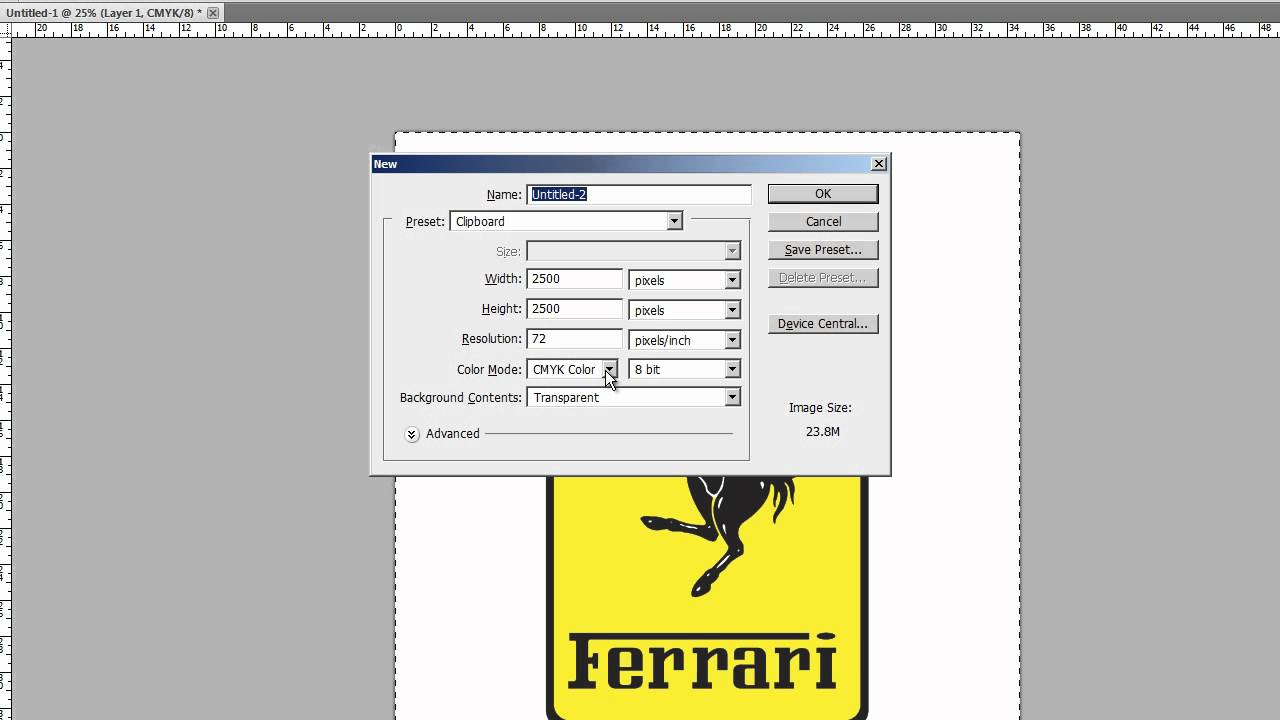 Photoshop format options download free clipart with a.